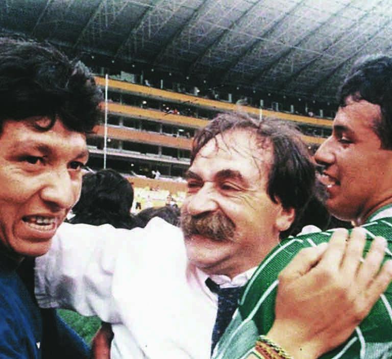 Xabier Azkargorta clasificación Bolivia Mundial 1994