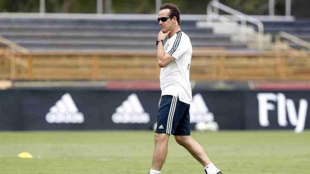 Lopetegui entrenamiento Madrid