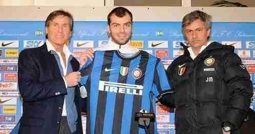 Presentación Pandev Inter Milán