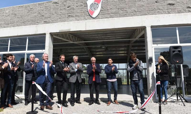 Marcelo Gallardo inaugura River Camp
