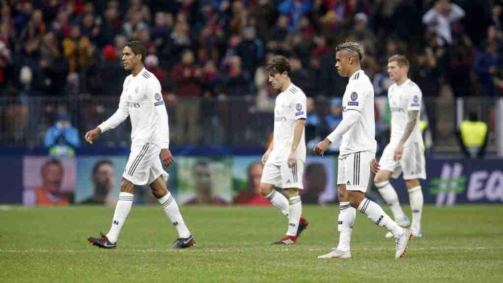 Real Madrid derrota