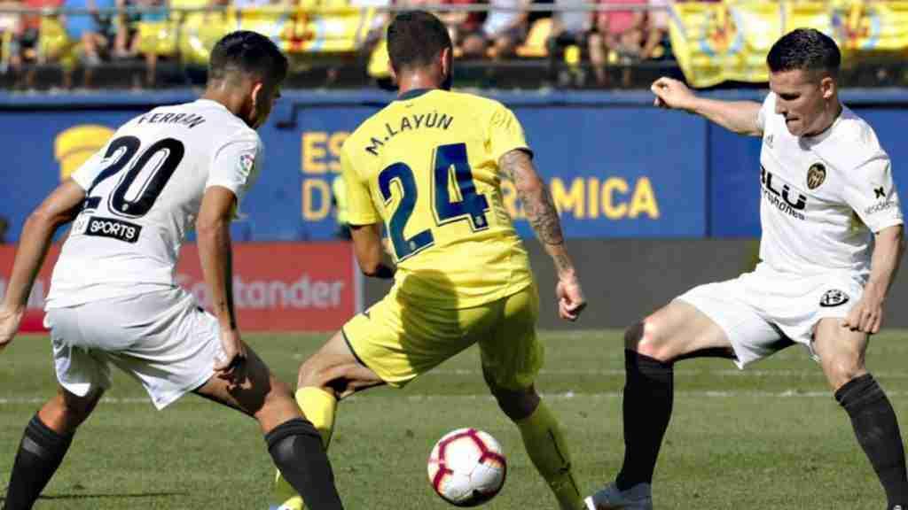 Villarreal Valencia liga 2018
