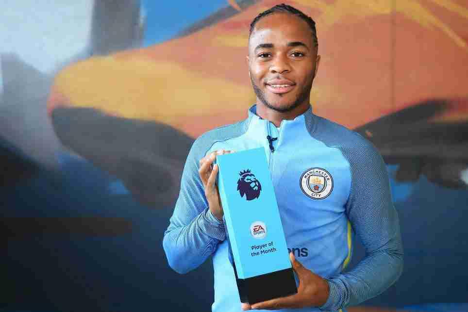 Sterling jugador del mes Premier