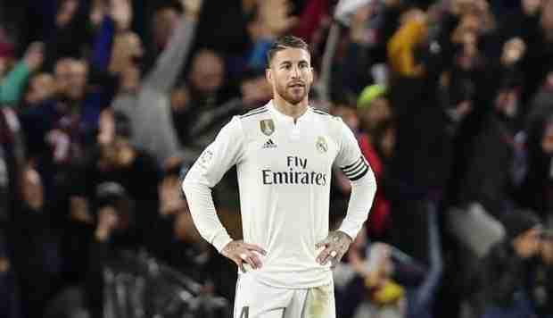 Sergio Ramos derrota Madrid