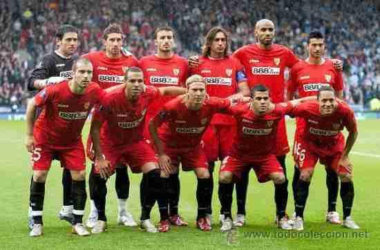 Sevilla once Copa de la UEFA 2007