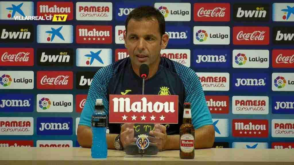 Javier Calleja rueda prensa Villarreal