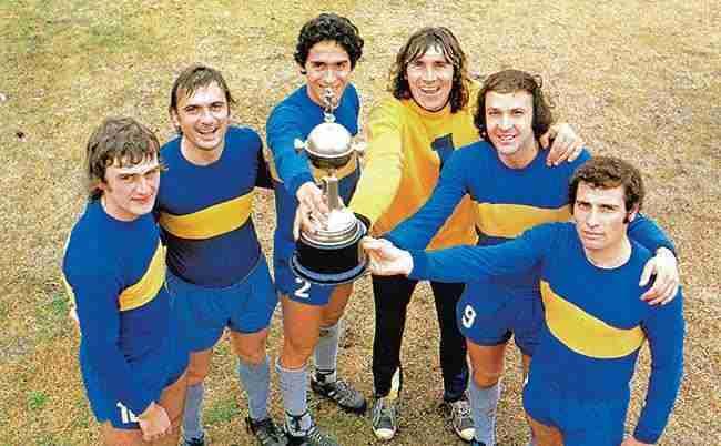 Boca Juniors campeón Copa Libertadores 1977