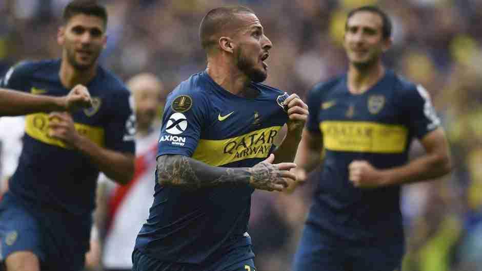 Gol Boca Copa Libertadores