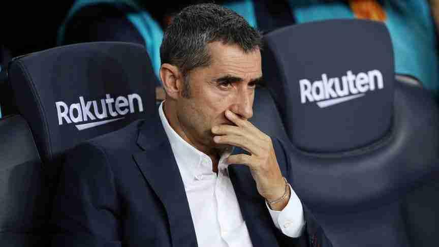 Ernesto Valverde banquillo Barcelona