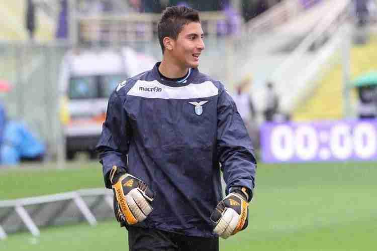 Thomas Strakosha entrenamiento Lazio