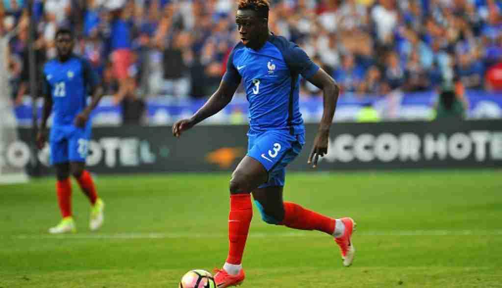 Mendy en la selección francesa