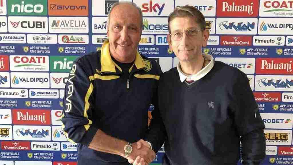 Ventura presentación Chievo Verona