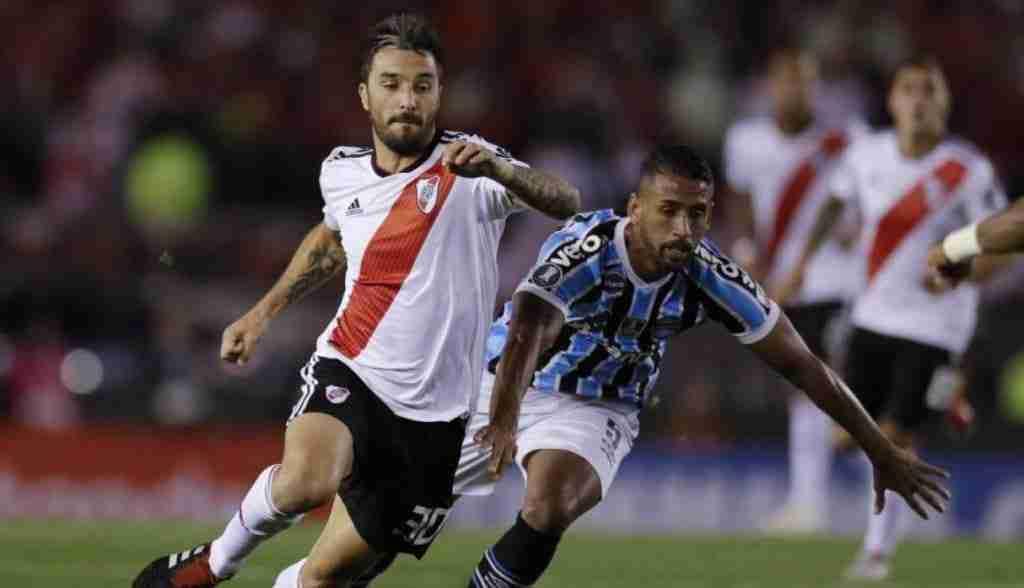 River Plate y Gremio de Porto Alegre