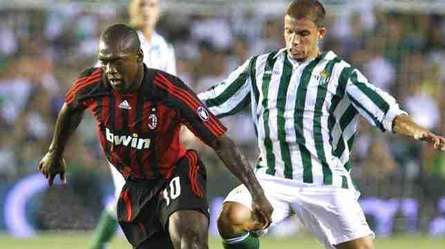 Clarence Seedorf y Alberto Rivera 2007