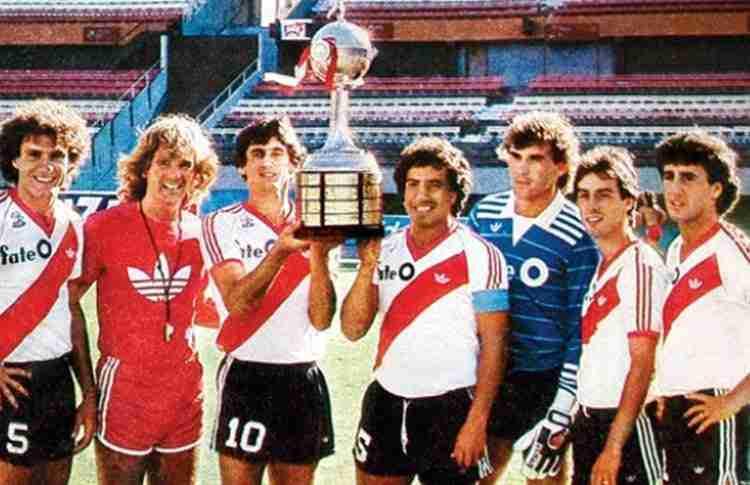 River Plate campeón Copa Libertadores 1986