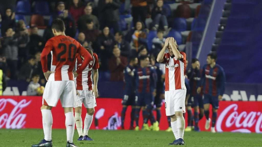 Athletic Bilbao recibe gol