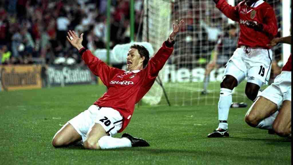 Solskjaer final Champions 1999