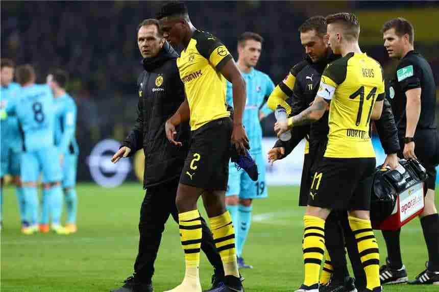 Dan Axel Zagadou Marco Reus Dortmund