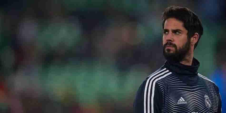 Isco suplente en el Real Madrid