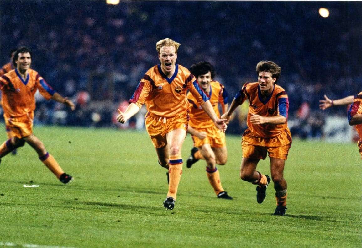 Ronald Koeman gol Wembley