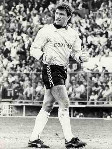 Paco Buyo joven Real Madrid