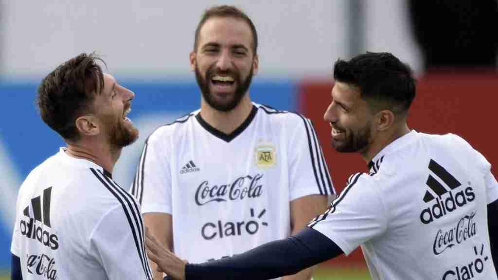 Messi, Higuaín y Agüero