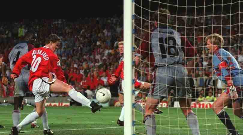Solskjaer gol Bayern Munich 1999