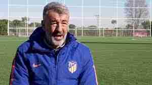 Óscar Fernández Atlético Madrid