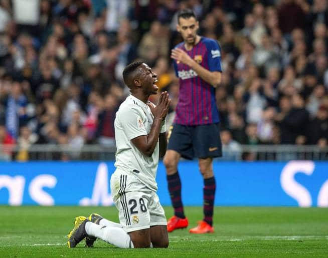 Vinicius Real Madrid Barcelona