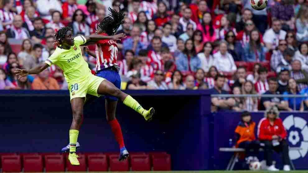 Atlético Féminas FC Barcelona