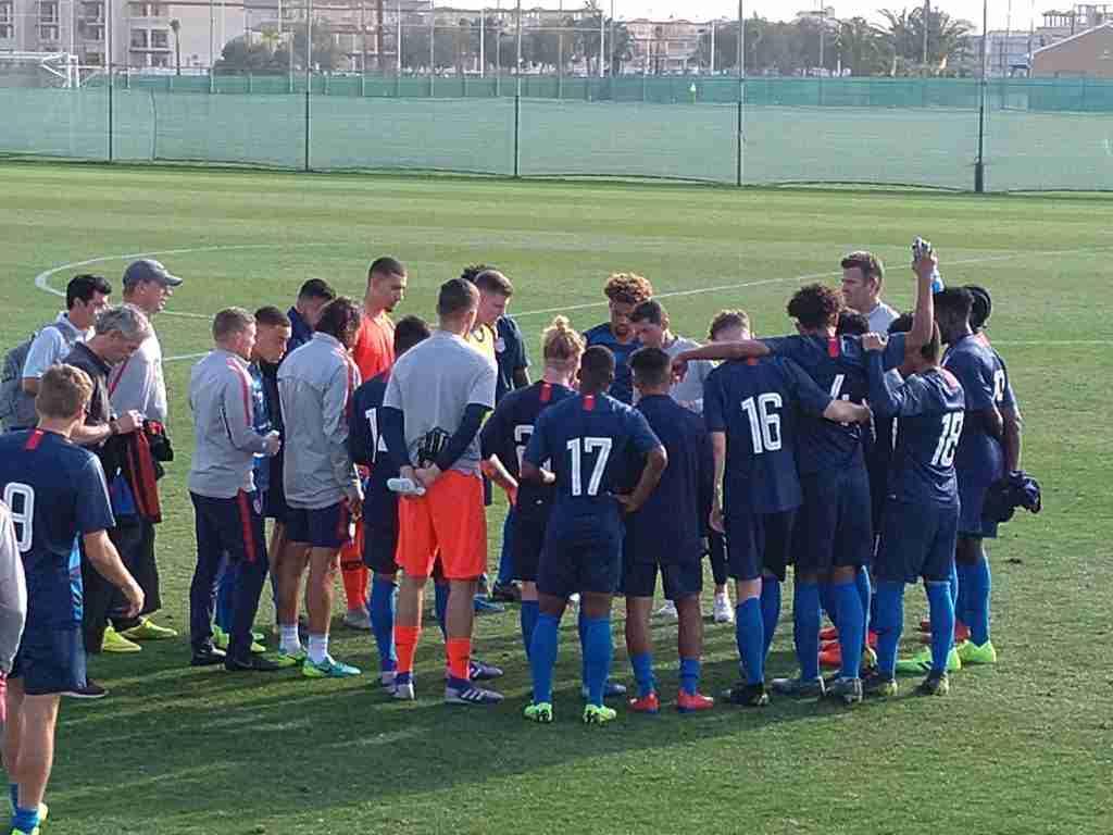 Tab Ramos reúne a sus jugadores EEUU Sub20