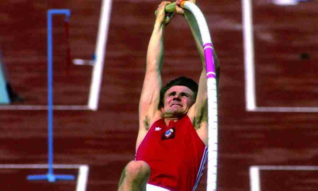 La leyenda del salto con pértiga, Sergei Bubka