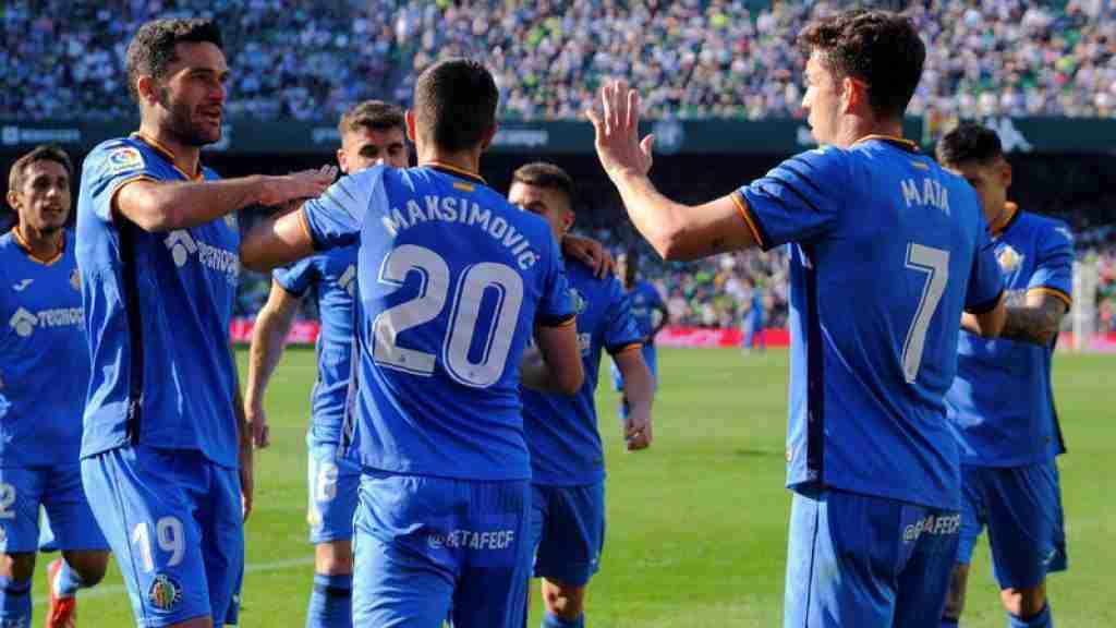 Getafe celebra gol