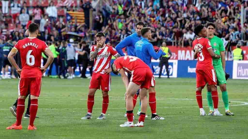 Girona desciende a Segunda