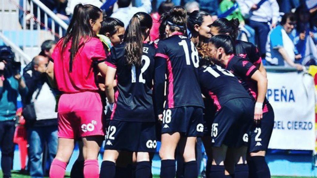 Equipo femenino fútbol