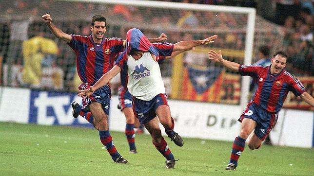 Figo celebra gol final Copa del Rey Barcelona Betis