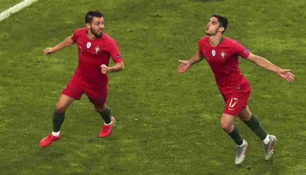 Gol Guedes Portugal Holanda