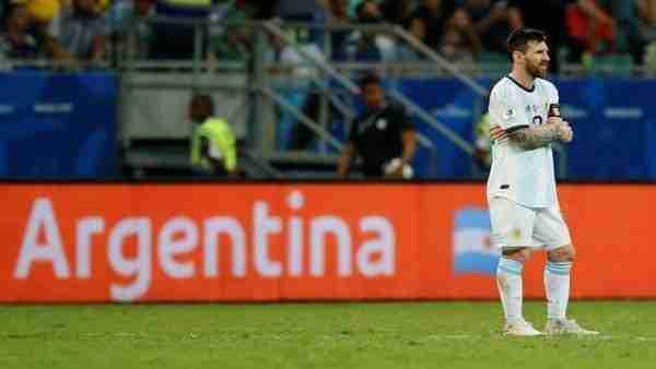 Messi Argentina Colombia Copa América