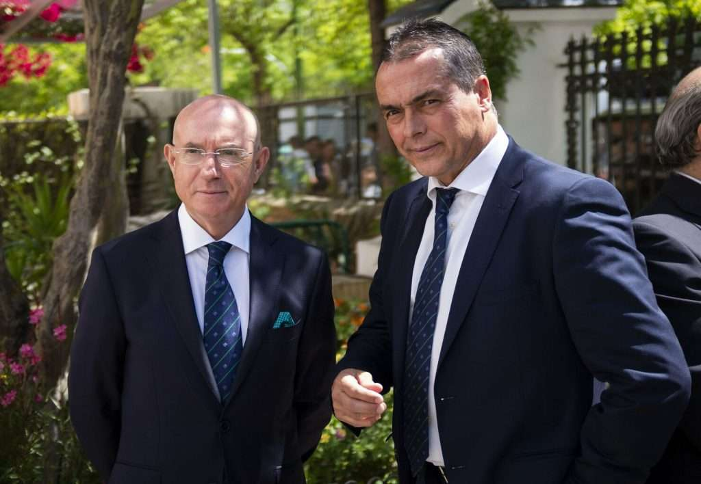 Lorenzo Serra Ferrer y Alexis Trujillo