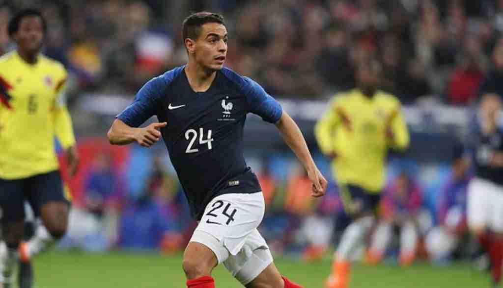 Wissam Ben Yedder jugando con la selección francesa