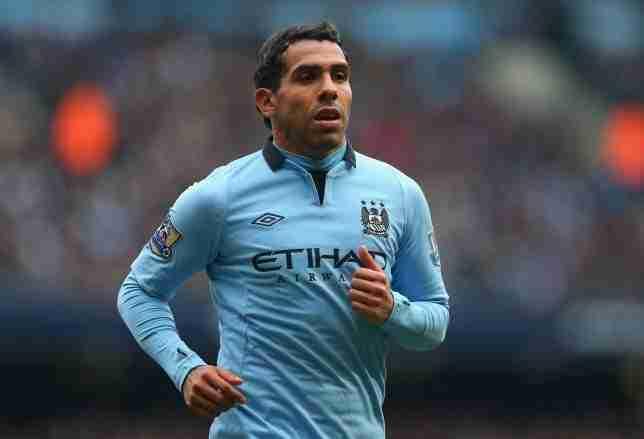 Carlos Tévez Manchester City