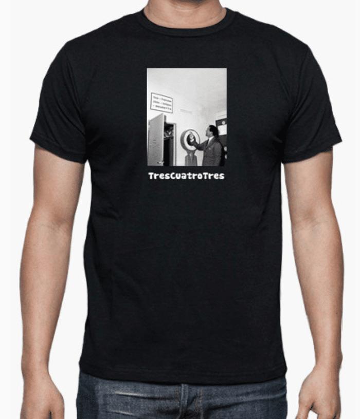 Camiseta de Helenio Herrera TresCuatroTres