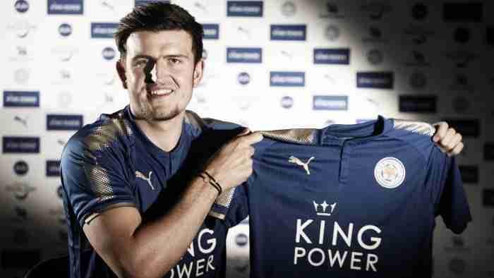 Harry Maguire presentación Leicester City