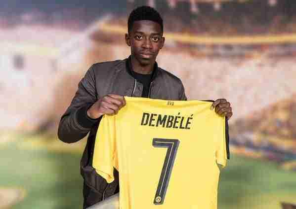 Presentación Ousmane Dembélé Borussia Dortmund