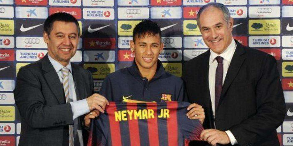 Presentación Neymar FC Barcelona