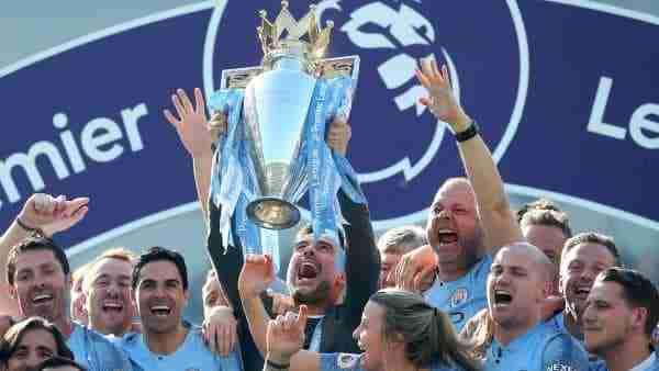 El Manchester City celebra la Premier 18/19