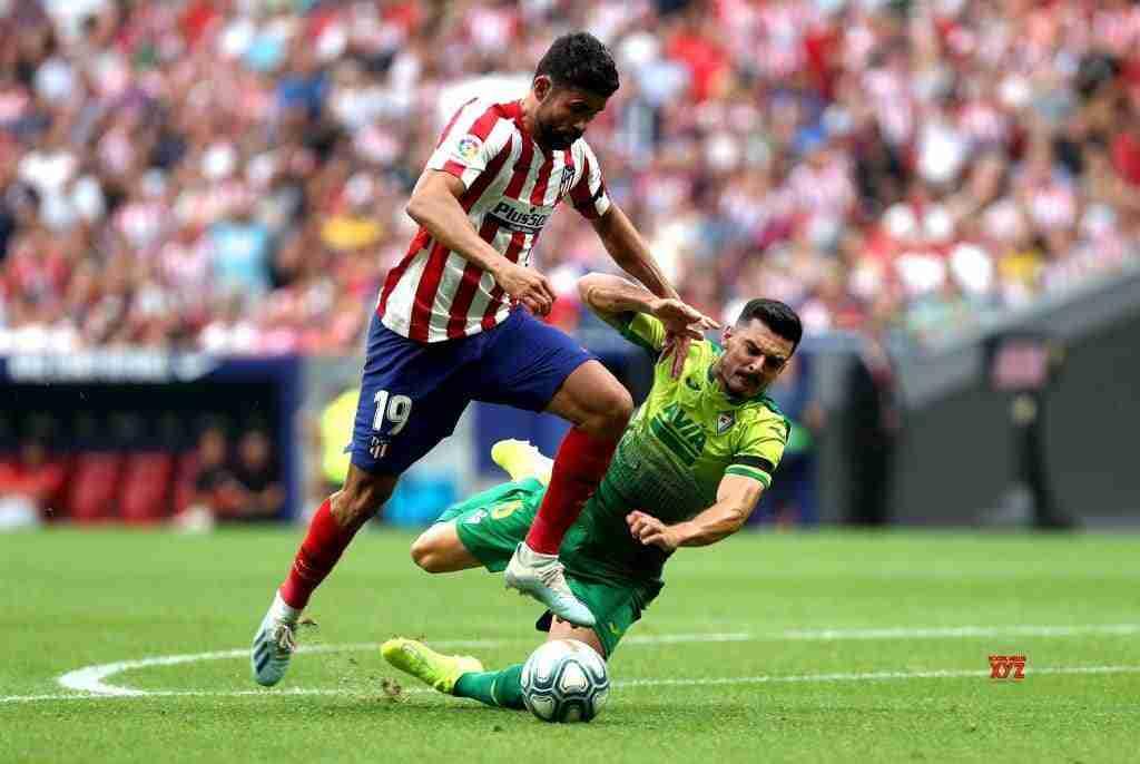 Diego Costa en el Atlético de Madrid Eibar.