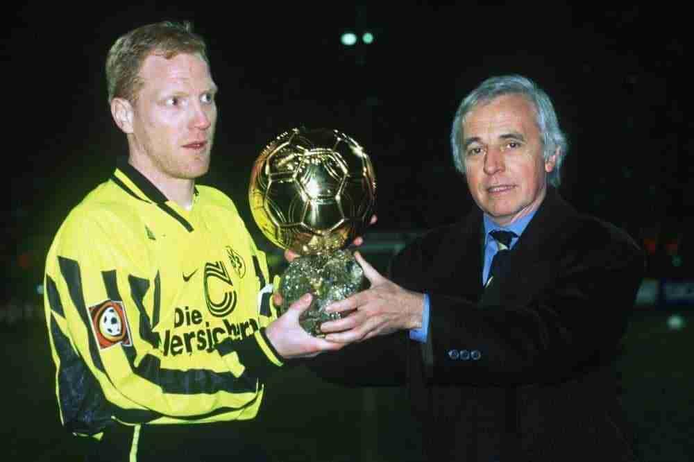 Matthias Sammer recibe Balón de Oro