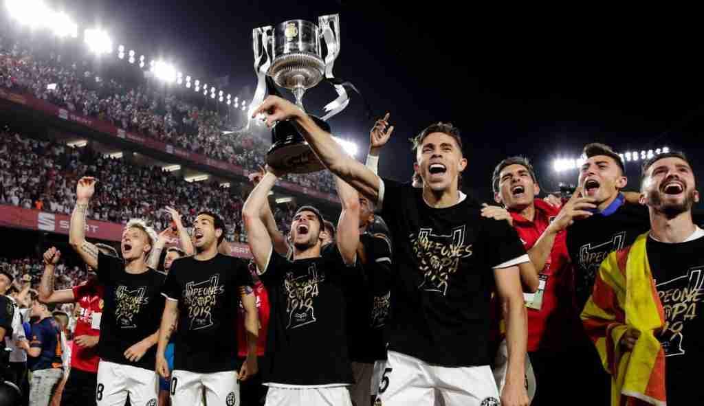 El Valencia CF celebra Copa del Rey