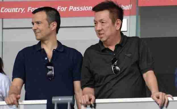 Peter Lim y Jorge Mendes